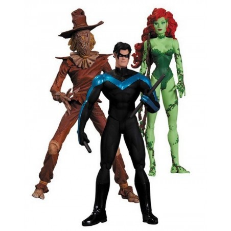 BATMAN HUSH - POISON IVY NIGHTWING SCARECROW 3-PACK ACTION FIGURE