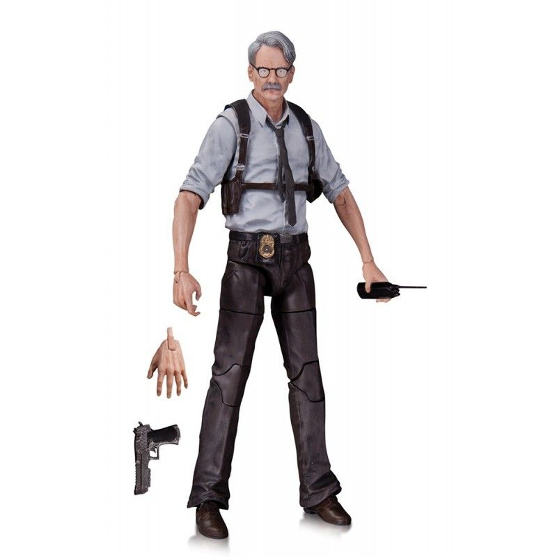 BATMAN ARKHAM KNIGHT - COMMISSIONER GORDON ACTION FIGURE