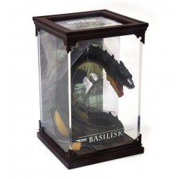 NOBLE COLLECTIONS HARRY POTTER MAGICAL CREATURES - BASILISK STATUA