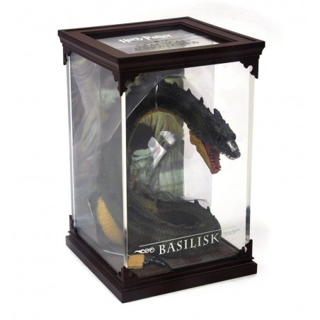HARRY POTTER MAGICAL CREATURES - BASILISK STATUA