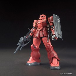 HIGH GRADE HG GUNDAM MS-05 ZAKU I CHAR AZNABLE 1/144 MODEL KIT FIGURE