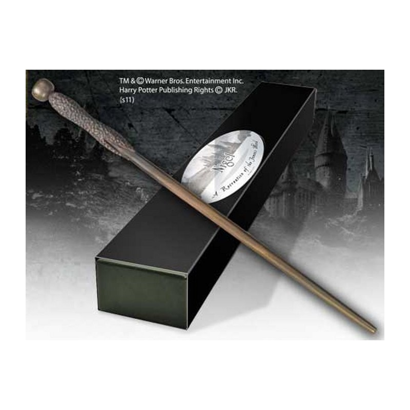 HARRY POTTER WAND NIGEL REPLICA BACCHETTA NOBLE COLLECTIONS