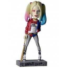 NECA SUICIDE QUAD - HARLEY QUINN BOBBLE HEAD KNOCKER FIGURE