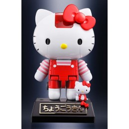 HELLO KITTY RED STRIPE VER CHOGOKIN ACTION FIGURE