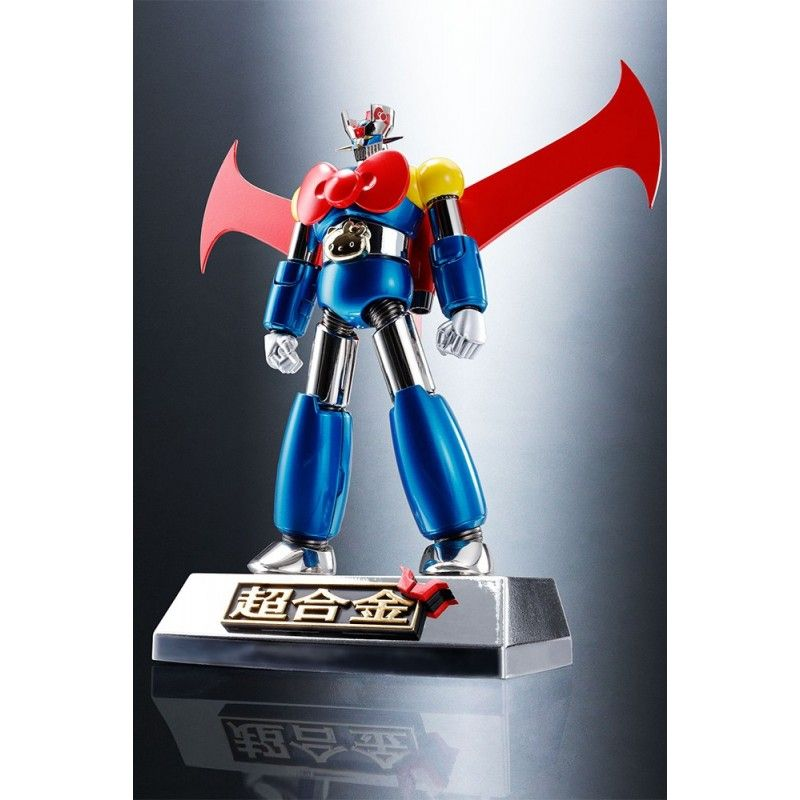 MAZINGER Z HELLO KITTY COLOR CHOGOKIN ACTION FIGURE BANDAI