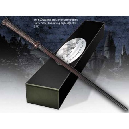 HARRY POTTER WAND OLIVER WOOD REPLICA BACCHETTA