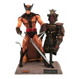 MARVEL SELECT X-MEN - WOLVERINE BROWN UNIFORM ACTION FIGURE