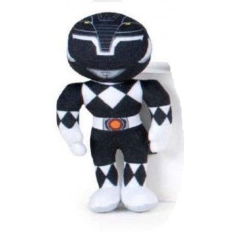 POWER RANGERS PUPAZZO PELUCHE BLACK RANGER 20CM PLUSH FIGURE