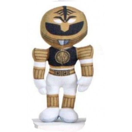 POWER RANGERS PUPAZZO PELUCHE WHITE RANGER 20CM PLUSH FIGURE