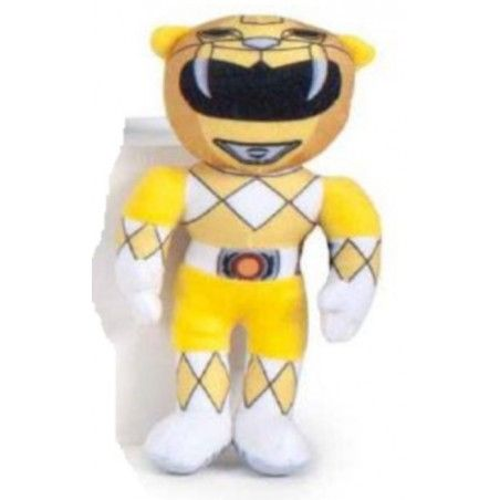 POWER RANGERS PUPAZZO PELUCHE YELLOW RANGER 20CM PLUSH FIGURE