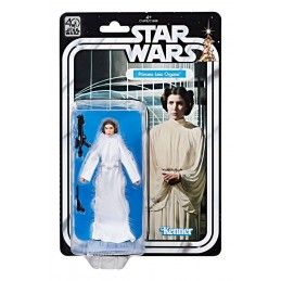 STAR WARS THE BLACK SERIES 40TH ANNIVERSARY PRINCESS LEIA ACTION FIGURE HASBRO