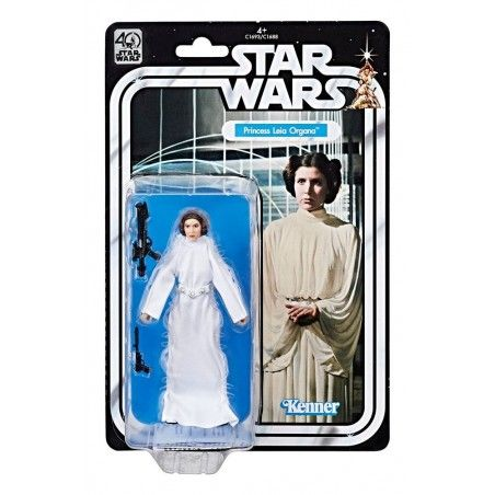 STAR WARS THE BLACK SERIES 40TH ANNIVERSARY PRINCESS LEIA ACTION FIGURE