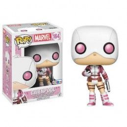 FUNKO FUNKO POP! GWENPOOL PHONE AND GUN BOBBLE HEAD KNOCKER