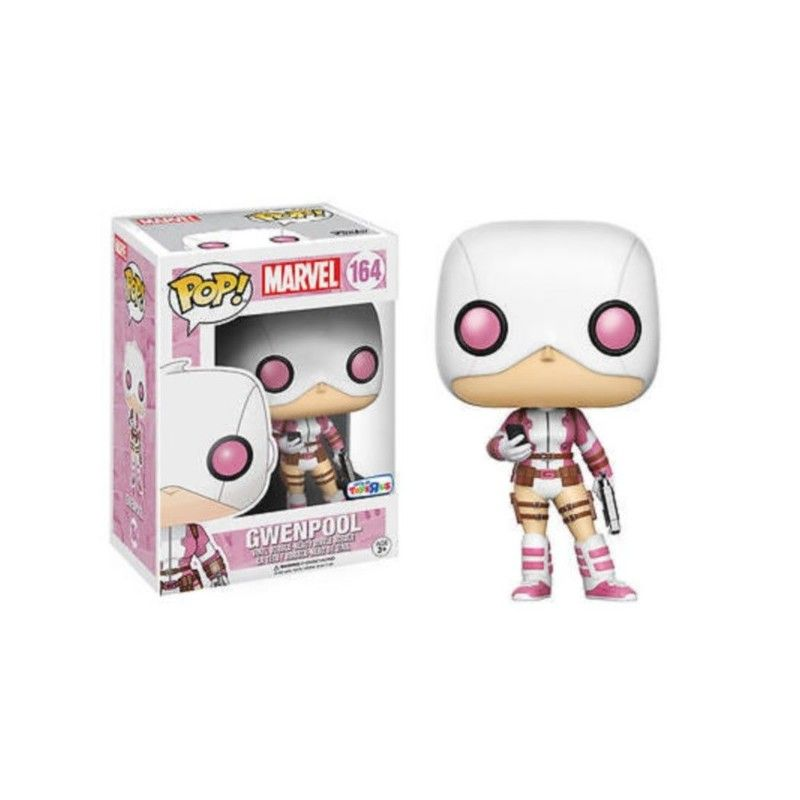 FUNKO POP! GWENPOOL PHONE AND GUN BOBBLE HEAD KNOCKER FUNKO