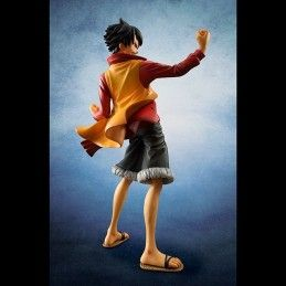 ONE PIECE POP P.O.P. MONKEY D LUFFY Z EDITION EX MODE ACTION FIGURE MEGAHOUSE