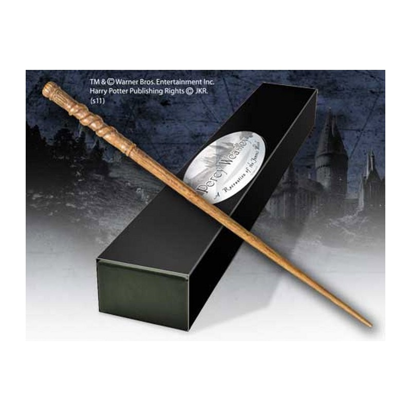 HARRY POTTER WAND PERCY WEASLEY REPLICA BACCHETTA NOBLE COLLECTIONS