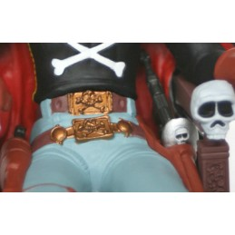 SPACE PIRATE CAPITAN HARLOCK PVC STATUE FIGURE