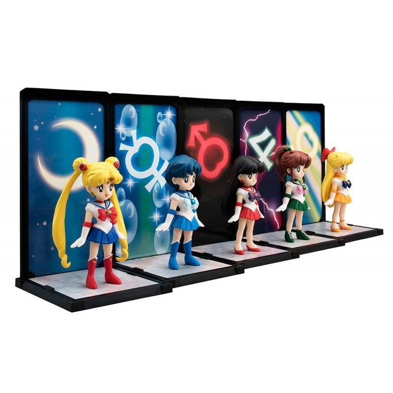 BANDAI SAILOR MOON SAILOR MERCURY TAMASHII BUDDIES 9CM ACTION FIGURE