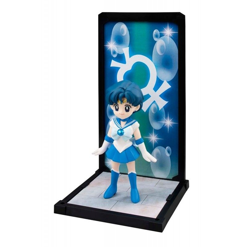 SAILOR MOON SAILOR MERCURY TAMASHII BUDDIES 9CM ACTION FIGURE BANDAI