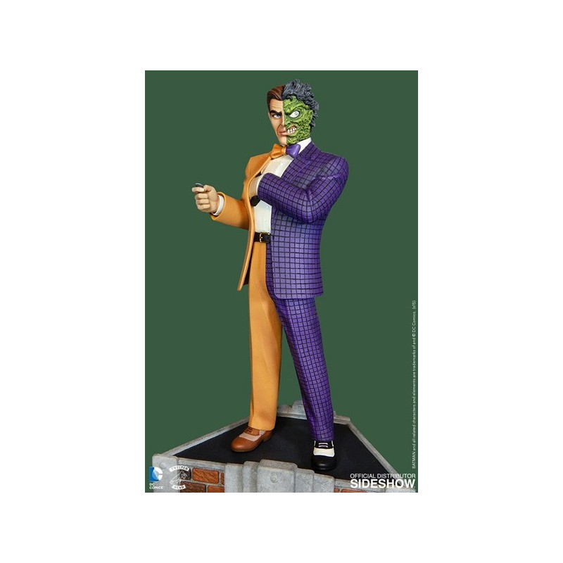 DC COMICS - TWO FACE MAQUETTE STATUE 35 CM FIGURE