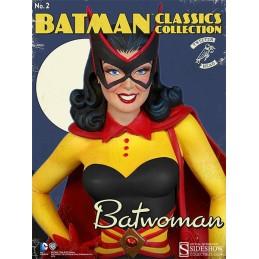 DC COMICS - BATMAN BATWOMAN MAQUETTE STATUE 33 CM FIGURE