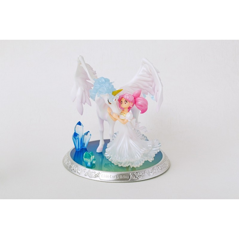 SAILOR MOON - CHOUETTE CHIBI-USA AND HELIOS FIGUARTS ZERO FIGURE
