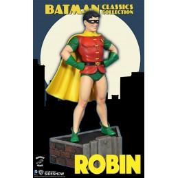 DC COMICS - BATMAN - ROBIN MAQUETTE STATUE 22 CM FIGURE