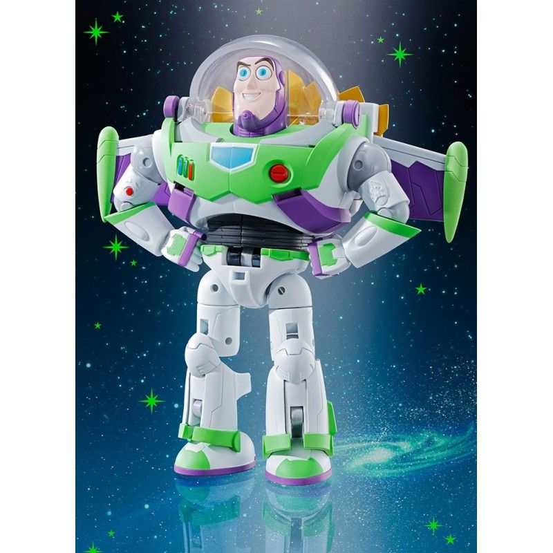 BANDAI TOY STORY - SPACE RANGER BUZZ LIGHTYEAR CHOGOKIN ACTION FIGURE