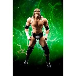 WWE TRIPLE H PAUL MICHAEL LEVESQUE S.H. FIGUARTS ACTION FIGURE BANDAI
