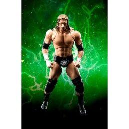 BANDAI WWE TRIPLE H PAUL MICHAEL LEVESQUE S.H. FIGUARTS ACTION FIGURE