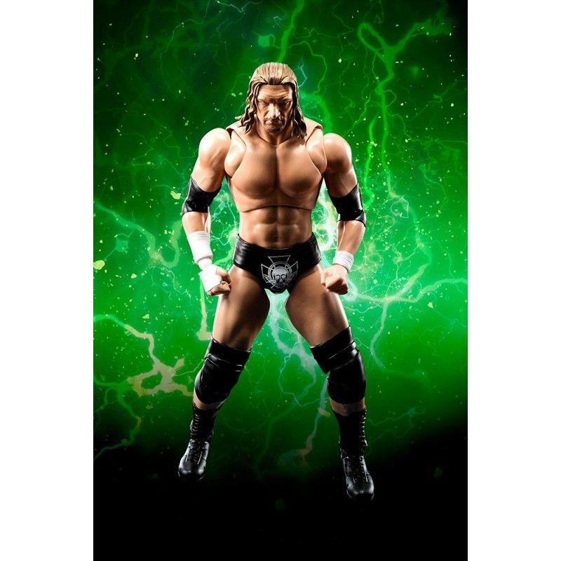 WWE TRIPLE H PAUL MICHAEL LEVESQUE S.H. FIGUARTS ACTION FIGURE
