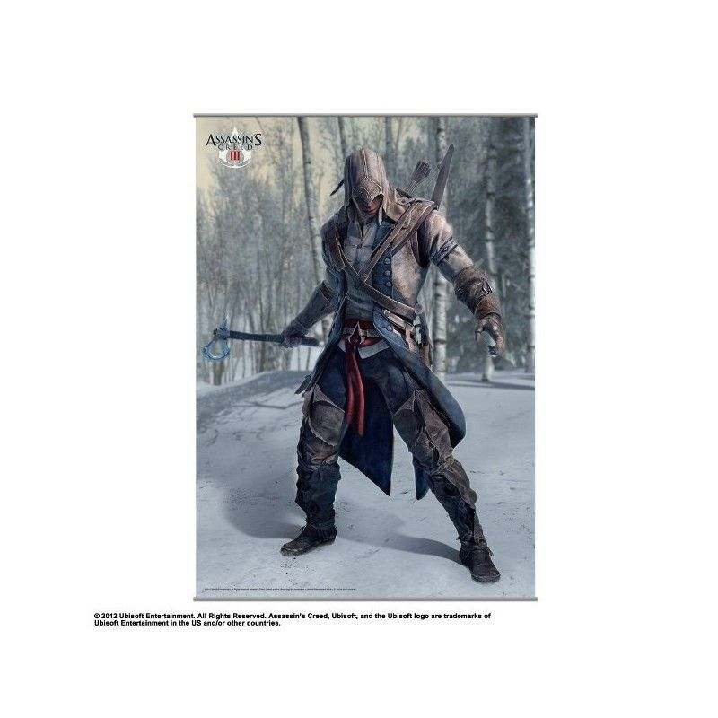 ASSASSINS CREED III WALL SCROLL VOL.1 105 X 77 CM
