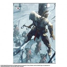 ASSASSINS CREED III WALL SCROLL VOL.2 105 X 77 CM
