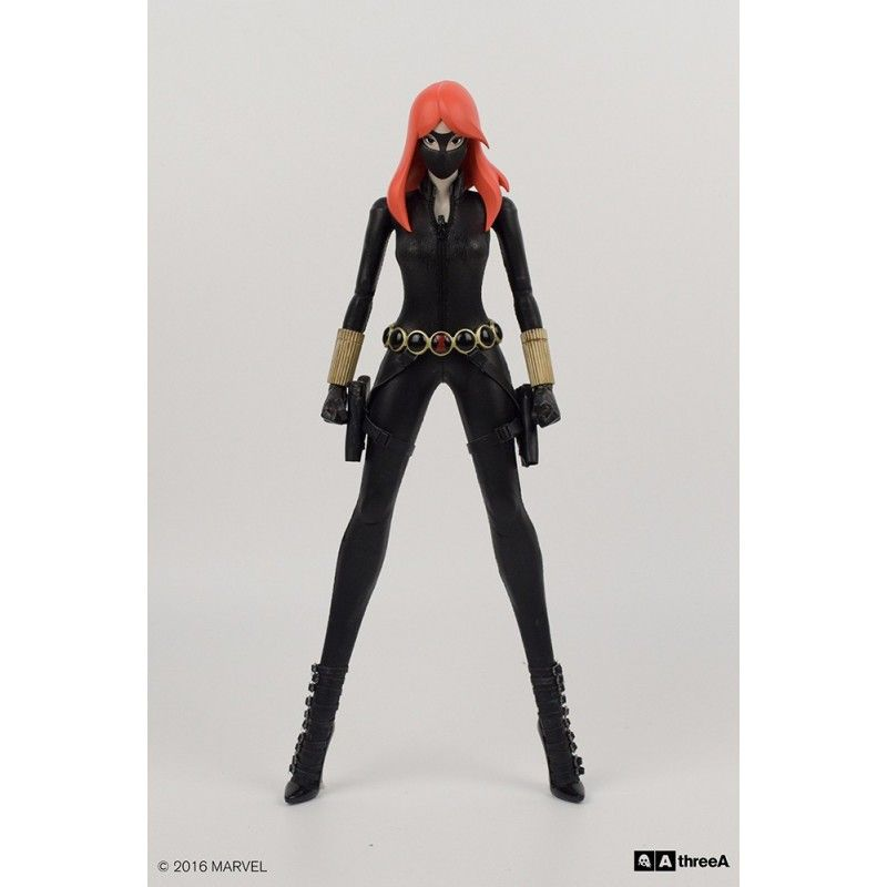 THREE A TOYS MARVEL AVENGERS - BLACK WIDOW BY ASHLEY WOOD 34 CM ACTION FIGURE
