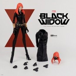 MARVEL AVENGERS - BLACK WIDOW BY ASHLEY WOOD 34 CM ACTION FIGURE THREE A TOYS
