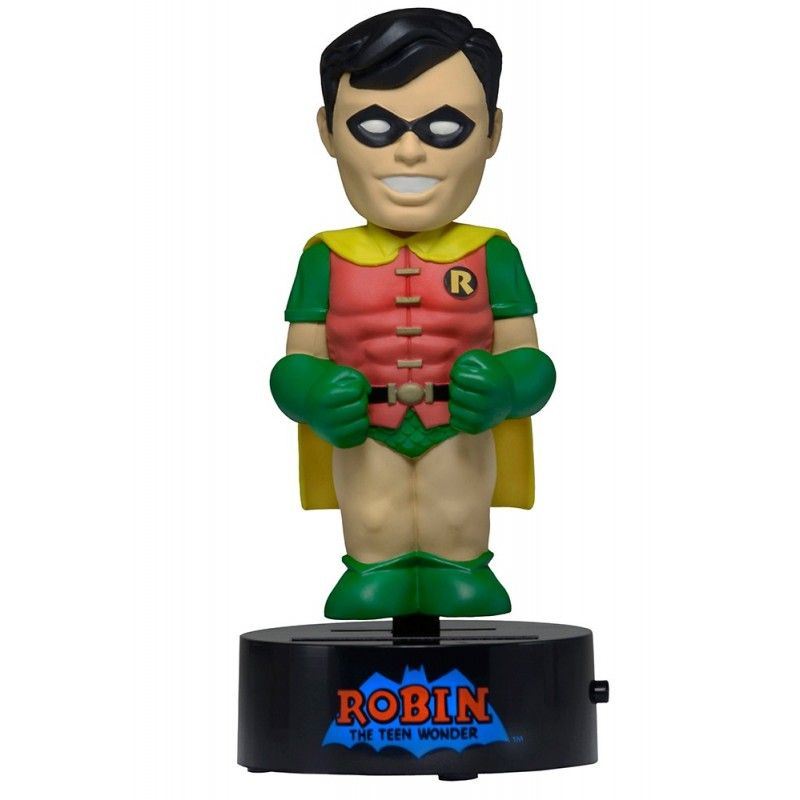BATMAN - ROBIN SOLAR BODY KNOCKERS FIGURE NECA