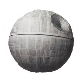 SD TOYS STAR WARS DEATH STAR SHAPED PELUCHE PLUSH CUSHION CUSCINO 45x45x6cm