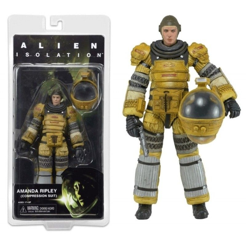 NECA ALIENS SERIE 6 - AMANDA RIPLEY COMPRESS SUIT ACTION FIGURE