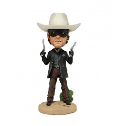 THE LONE RANGER STATUE BOBBLE HEAD KNOCKER FIGURE