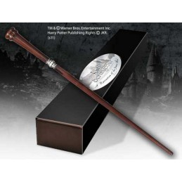 NOBLE COLLECTIONS HARRY POTTER WAND RUFUS SCRIMGEOUR REPLICA BACCHETTA