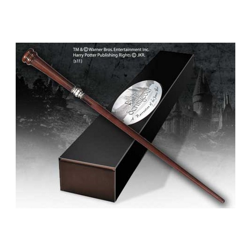 HARRY POTTER WAND RUFUS SCRIMGEOUR REPLICA BACCHETTA NOBLE COLLECTIONS