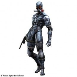 METAL GEAR SOLID 2 - RAIDEN PLAY ARTS KAI PAK ACTION FIGURE