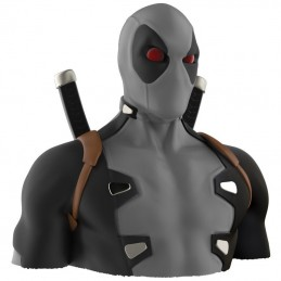 MARVEL X-FORCE DEADPOOL DELUXE BUST BANK SALVADANAIO FIGURE SEMIC