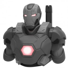 MARVEL AVENGERS WAR MACHINE MK3 BUST BANK DELUXE SALVADANAIO ACTION FIGURE SEMIC