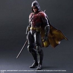 SQUARE ENIX BATMAN ARKHAM KNIGHT ROBIN PLAY ARTS KAI PAK ACTION FIGURE