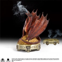 LO HOBBIT - SMAUG BRUCIAINCENSO INCENSE BURNER 25 CM FIGURE NOBLE COLLECTIONS