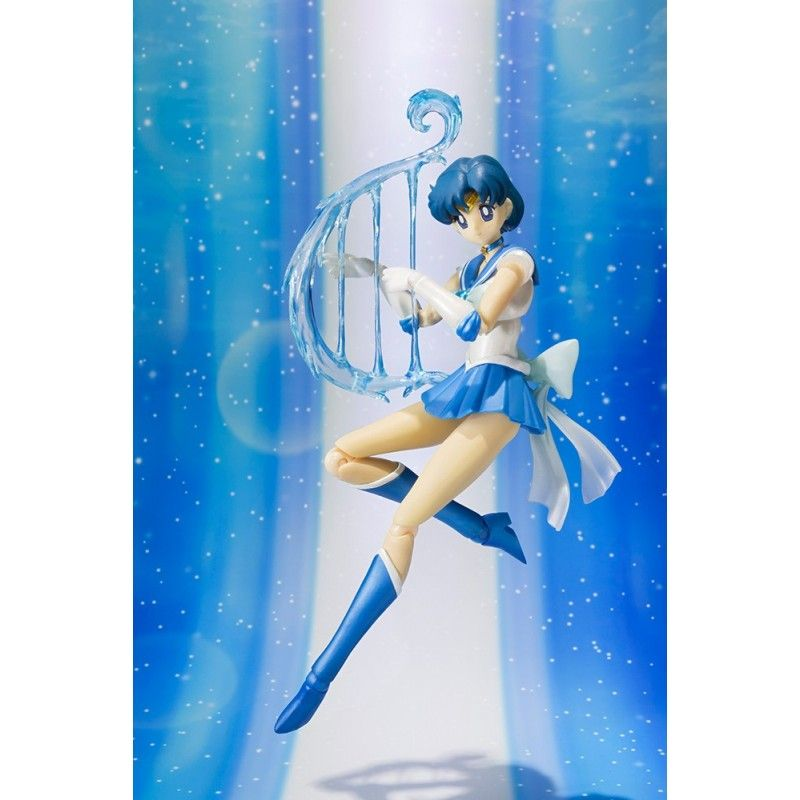 SAILOR MOON SUPER SAILOR MERCURY SH. FIGUARTS ACTION FIGURE BANDAI