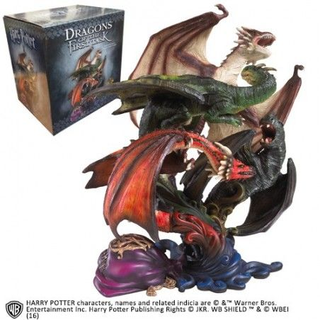 HARRY POTTER DRAGONS OF THE FIRST TASK STATUE 28CM FIGURE