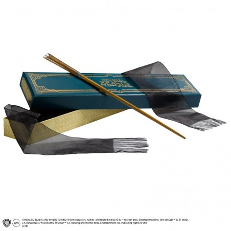 HARRY POTTER FANTASTIC BEASTS SCAMANDER WAND REPLICA BACCHETTA
