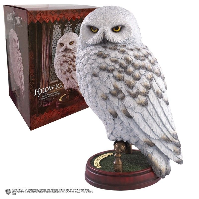 HARRY POTTER - HEDWIG STATUA FIGURE NOBLE COLLECTIONS